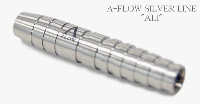 ALI SILVER 80% Tungsten Barrel. Weight 16.5gr. Length 38.0mm. MAX-Diameter 7.2mm.