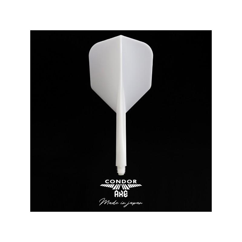 plumas-condor-axe-blanca-shape-larga-3-uds